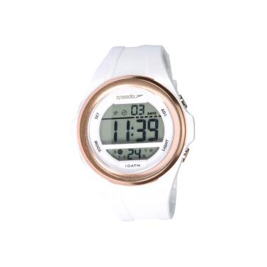 5e2c184e9cb Relógio Digital Speedo 65097L0 - Feminino - BRANCO Speedo