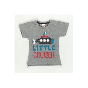 Camiseta Little Cruiser Cinza - ByGus