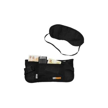 Kit Vox Azteq Pochete tipo money belt + Tapa Olhos