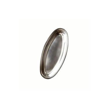 Imagem de Travessa Bandeja Oval Aço Inox 60Cm Profissional 123Útil