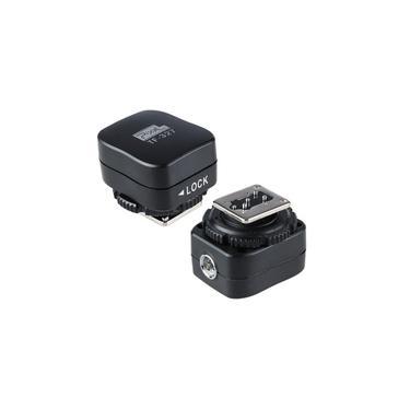Imagem de Conversor de Sapata Pixel TF-327 Nikon com Conector PC-Sync para Flash de Estúdio
