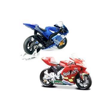 Imagem de Miniatura Moto Coleção Motovelocidade Yamaha Honda 1:18