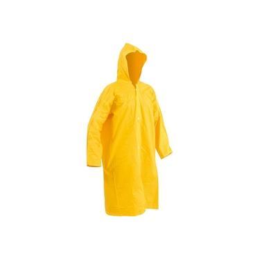 Imagem de Capa de chuva pvc laminado sem forro g amarela ca11040 - Vonder