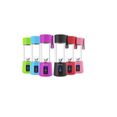 Liquidificador Portátil Juice Cup 6 Lâminas - Rosa