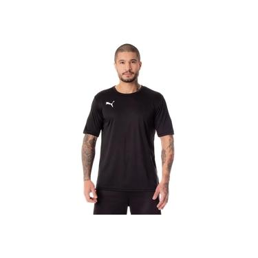 Camiseta Masculina Puma Jersey Active Preto