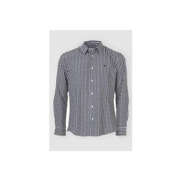Camisa Masculina Xadrez Manga Longa 1000058742 Malwee