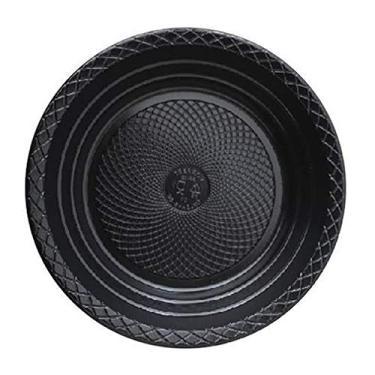 Prato Descartável Raso - 15cm - Cores