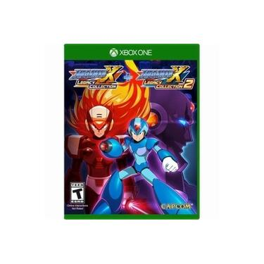 Mega Man X Legacy Collection 1+2 - Jogo Xbox One (Pacote com 8 Jogos)
