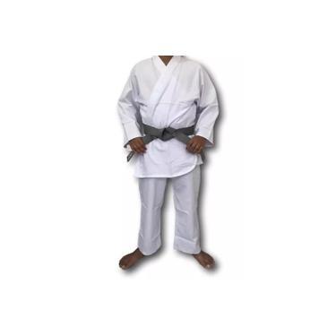 Kimono Torah Reforçado Flex - Branco
