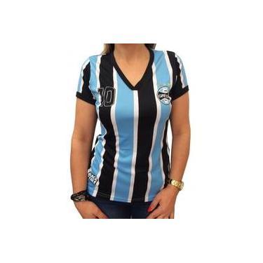 101fe28a71 Camisa Baby Look Feminina Grêmio 71008