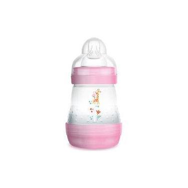 Mamadeira Anti-cólica Mam First Bottle Rosa 160ml (1m+)
