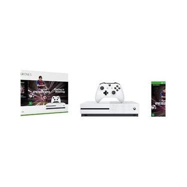 Console Xbox One S 1Tb Branco Pes 2020 + Controle Sem Fio
