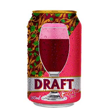 Chopp de Vinho Draft Lata 350ml