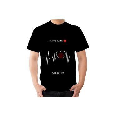 Camiseta Camisa Amor Por Animais Cachorro Gato Até O Fim S2