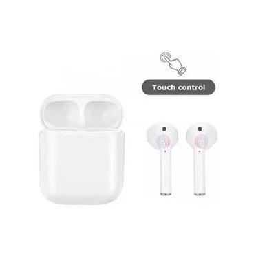 Fone De Ouvido Controle ao Toque Sem Fio Bluetooth 5.0 Tipo AirPods Touch I11 Tws Branco