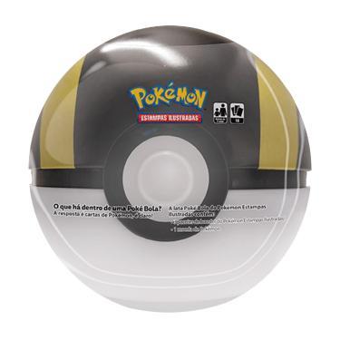 Lata Pokémon Pokébola Ultra Bola - Copag