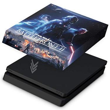 Capa Anti Poeira para PS4 Slim - Star Wars - Battlefront 2