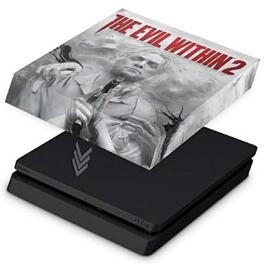 Capa Anti Poeira para PS4 Slim - The Evil Within 2