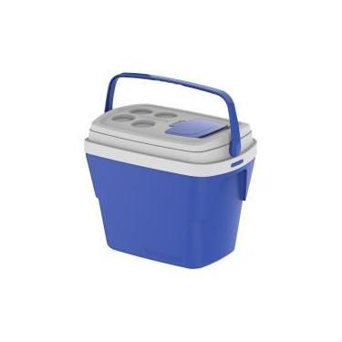Caixa Térmica Tropical Azul 28L - Soprano
