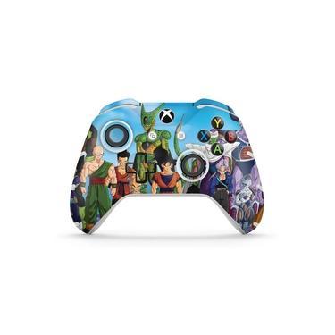 Skin Adesivo para Xbox One Slim X Controle - Dragon Ball Z