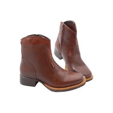 Bota Masculina com Zíper Palma Boots SV0607