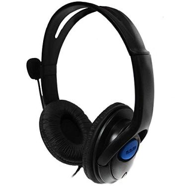 Fone De Ouvido Headset Estéreo Para Ps4 Playstation 4 com Microfone P3