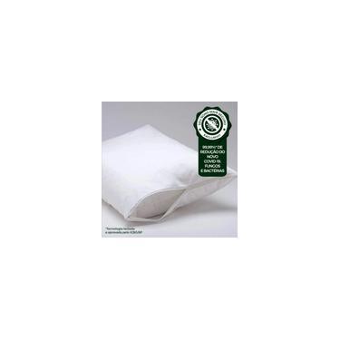 Imagem de Protetor de Travesseiro Percal 100% Algodão 180 Fios Cru Resistente a água - 4 Peças