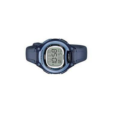5e84a4ad4ac Relógio Feminino Casio Digital Esportivo 50atm Lw-203-2avdf