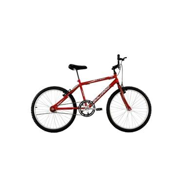 Imagem de Bicicleta Aro 26 Masculina Dalannio Bike Sport Sem Marcha Vermelha