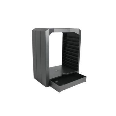 Jogo universal e kit de suporte de prateleira da torre de armazenamento de discos Blu Ray para Xbox One PS3 PS4