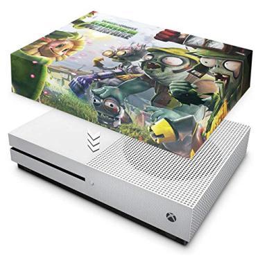 Capa Anti Poeira para Xbox One S Slim - Plants Vs Zombies Garden Warfare