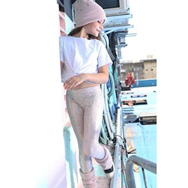 Legging rosa e dourado ROSA 4