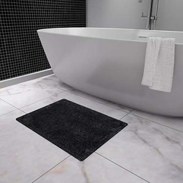 Imagem de Tapete de Banho Essential Osman Etna Preto 220x240 cm Têxtil