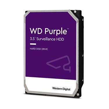 HD Interno 12TB Western Digital Purple CFTV 256MB Cache 7200 RPM SATA III 6Gbps - WD121PURZ