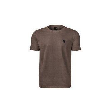 Camiseta Masculina Básica Made In Mato Kaki 8288