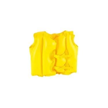 Imagem de Colete Inflável Infantil Proteção Segurança Criança 30kg Mor