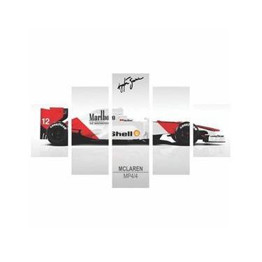 Quadro Mclaren Mp4/4 Ayrton Senna Formula 1 160X80
