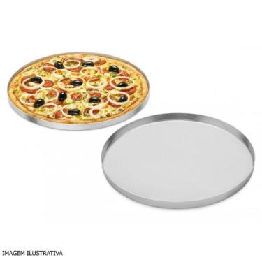 Forma de Pizza de Alumínio 15 cm ABC