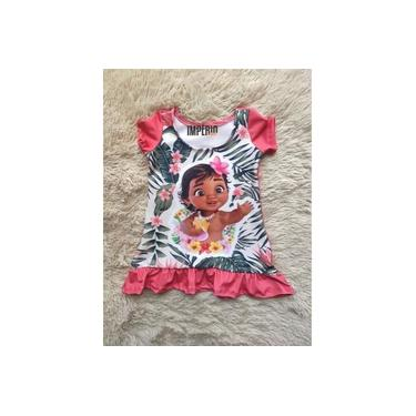 Vestido Moana Baby Rosa