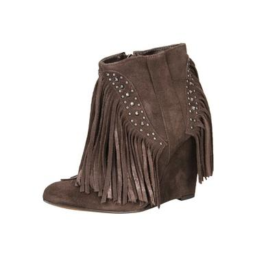 Bota Cano Médio My Shoes Franja