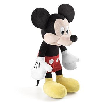 Imagem de Boneco de Pelúcia Mickey com Som Multikids Vermelho 33cm