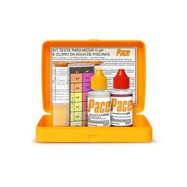 Imagem de Kit de Teste Para Piscinas pH e Cloro - Pace