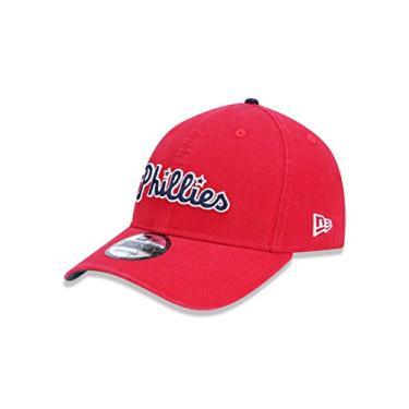 BONE 920 PHILADELPHIA PHILLIES MLB ABA CURVA STRAPBACK VERMELHO NEW ERA c5ebe1957e1