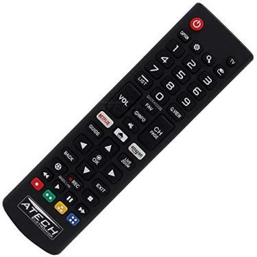 Controle Remoto TV LED LG AKB75095315 com Netflix e Amazon (Smart TV)