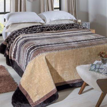 Cobertor Jolitex Super King Raschel Pelo Baixo 2,40X2,60M Gramado