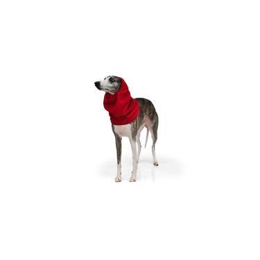 Roupa de Frio Snood Gola Protetor de Orelhas para Cachorro e Gato Pet - Vermelho - Bichinho Chic