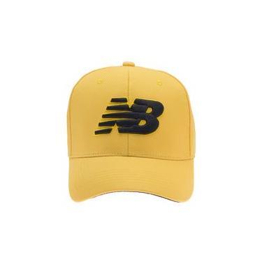 Boné New Balance Ultracap Bordado | Infantil Amarelo - UNI