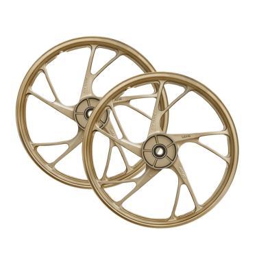 Imagem de Rodas Scud Par Titan 160 Esd 150 14 15 dourado