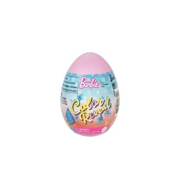 Imagem de Barbie Color Reveal PET OVO Surpresa Rosa Mattel GVK58