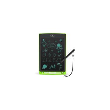 Imagem de Tablet de escrita lcd 8,5 polegadas Toddler Doodle Board, Tablet de Desenho Colorido, Almofadas de Pintura Eletrônica Reutilizável, Brinquedo Educacional e Aprendendo Crianças para 2 3 4 5 6 Anos Meninos e Meninas (Verde)